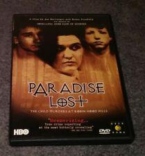 Paradise Lost DVD Child Murders Robin Hood Hills Joe Berlinger HBO Documentary
