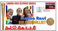 JESSICA ROSSI 2012 OLYMPIC ITALY SHOOTING GOLD COVER