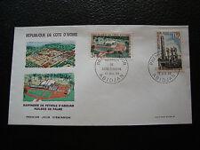 COTE D IVOIRE - enveloppe 1er jour 13/7/1968 (cy75)