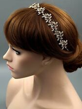 Bridal Jewelry Accessories Wedding Headpiece Crystal Headband Hair Pin Tiara 27G