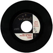 "ELOISE  ""YOU SHOULD HAVE TREATED ME RIGHT""   DEMO  NORTHERN SOUL  LISTEN!"
