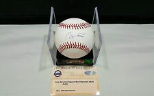 Gary Sanchez NY Yankees Autographed signed  ROML Baseball Auth by  Steiner