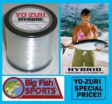 YO-ZURI HYBRID Fluorocarbon Fishing Line 10lb/600yd CLEAR NEW! FREE USA SHIP!