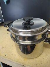 Royal Prestige 4 Qt Mini Stock Pot With Steamer Pan