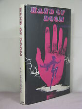 1st, signed by author, Hand of Doom by R Lionel Fanthorpe (1968)Arcadia House HB