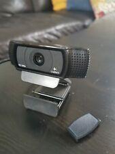 Logitech C920 HD Pro Webcam, Full HD 1080p/30fps Video Calling, Stereo Audio