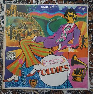 "VINYL LP  THE BEATLES   ""OLDIES""  AMIGA DDR PRESSUNG  MIT ORIGINAL INLET"