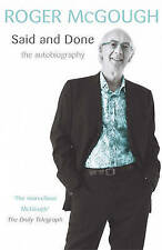 Said and Done by Roger McGough (Paperback, 2006)