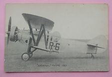 MILITARY AVIATION Postcard c.1930 BRISTOL TYPE 120 - R-6
