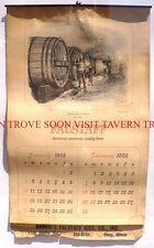 Scarce 1965 Falstaff Beer Calendar Rankin's Olney Illinois Tavern Trove