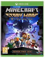 Minecraft: Story Mode - A Telltale Game Series - Season Disc (Xbox One) MINT