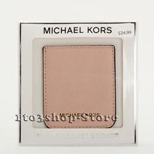 61b487fc401b67 Michael Kors MK Saffiano Leather iPhone or Phone Pocket Sticker Card Holder  Pink