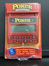 RecZone - Electronic 5 in 1 Poker Handheld Game Portable Toy