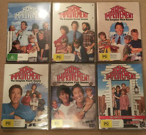 Home Improvement Dvd Series 1-6