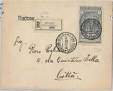 64151 -  REGNO - STORIA POSTALE : # 149 PREVIDENZA CN  isolato su BUSTA 1923