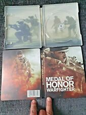 Medal of Honor Warfighter Ps3 Exclusive Futureshop G2 Steelbook New - No Game In