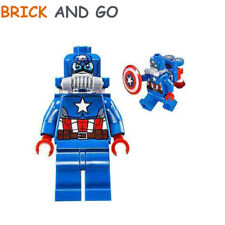 LEGO Minifig Figurine Super Heroes SH228 Space Captain America NEUF NEW