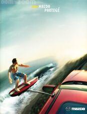 2002 02 Mazda Protege  original sales brochure mint
