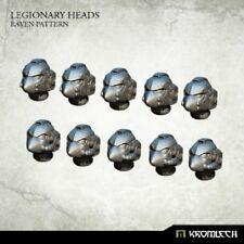 Kromlech BNIB Legionary Heads: Raven Pattern (10) KRCB199