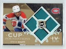 07-08 UD The Cup Foundations  Steve Shutt  10/10  Last Card  Quad Patches  HOF
