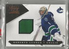 2010-11 Luxury Suite Hockey Roberto Luongo Jersey Base Card # 477/599 (CSC)