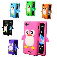 Nokia Lumia 710 funda TPU, móvil, funda protectora, funda, funda protectora 3d pingüino