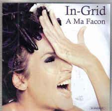 InGrid-A Ma Facon Promo cd single