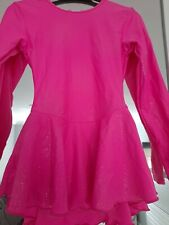 Starlite Pink Ice Skating Dress Size 3a 11-12 yes/ 12-13yrs dance/ skate / tap