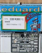Eduard 1/72 SS605 zoom a colori Etch per la SPECIAL HOBBY SB2C-5 Helldiver kit