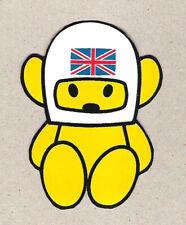 Vintage Formula 1 Team HESKETH Bear James Hunt Grand Prix Racing Sticker