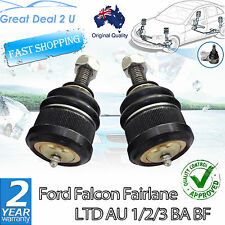 For FORD FALCON AU BA BF TERRITORY SX SY FRONT LOWER BALL JOINT KIT SET OF 2