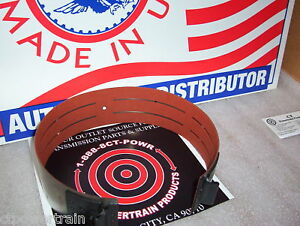 C6 ALTO Red Eagle Heavy Duty Wide Band 1966-On New Powerband Fits Ford Lincoln