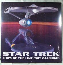 Star Trek Ships of the Line calendar 2012 new
