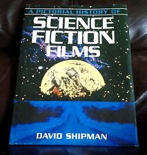 SCIENCE FICTION FILMS LARGE HARD COVER COFFEE TABLE BOOK BY DAVID SHIPMAN NICE