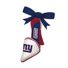 Rare New Item ! New York Ny Giants Shoe High Heel Christmas Tree Ornament