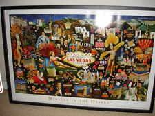 Las Vegas Poster Miracle In The Desert Las Vegas History Vladimir Gorsky 24 x 36