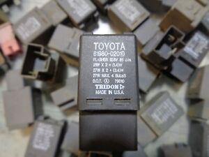 Toyota Corolla Chevy Prizm Turn Signal Hazard Flasher Relay Switch  81980  02010