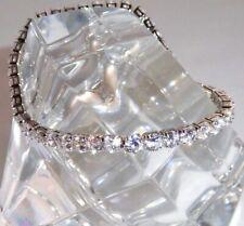 Certified 5Ct Round Cut Diamond Tennis Bracelet 14k White Gold Valentine Sale