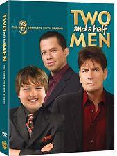 Two And A Half Men - Season 6 [DVD] Conchata Ferrell, Charlie Sheen Brand New