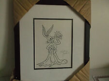 Bugs Bunny Looney Tunes Drawing Pen & Ink  By Kelley Jarvis Original  Animation