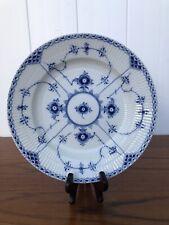 New ListingRoyal Copenhagen Denmark Blue Fluted Half Lace Dinner Plate #571 - 1st Quality