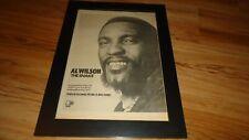 AL WILSON the snake-1975 framed original poster sized advert