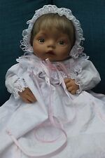 Ashton Drake Galleries Jessica's Christening baby doll newborn collectible cute