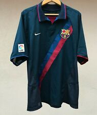 FC BARCELONA SPAIN 2002/2004 AWAY FOOTBALL SOCCER SHIRT JERSEY CAMISETA NIKE