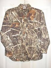 GAME WINNER ADVANTAGE MAX-4 HD CAMOUFLAGE YOUTH LONG SLEEVE SHIRT SZ YOUTH LARGE