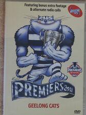 GEELONG AFL PREMIERS 2011 DVD