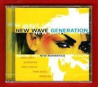 New Wave Generation-New Romantics Duran Duran, Culture Club, Ultravox, Pe.. [CD]