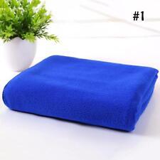 Secado rápido toalla baño playa gimnasio deporte microfibra azul cara suave &71