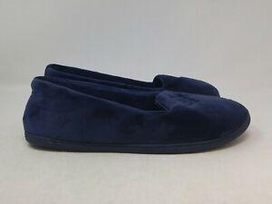 Dearfoams Women's Navy Blue Shoes Size 9-10 US