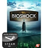 BIOSHOCK THE COMPLETE COLLECTION PC STEAM KEY